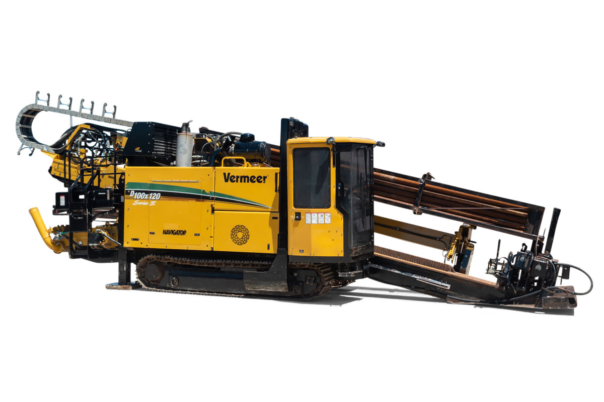 2009 Vermeer 100×120 Series II horizontal directional drill