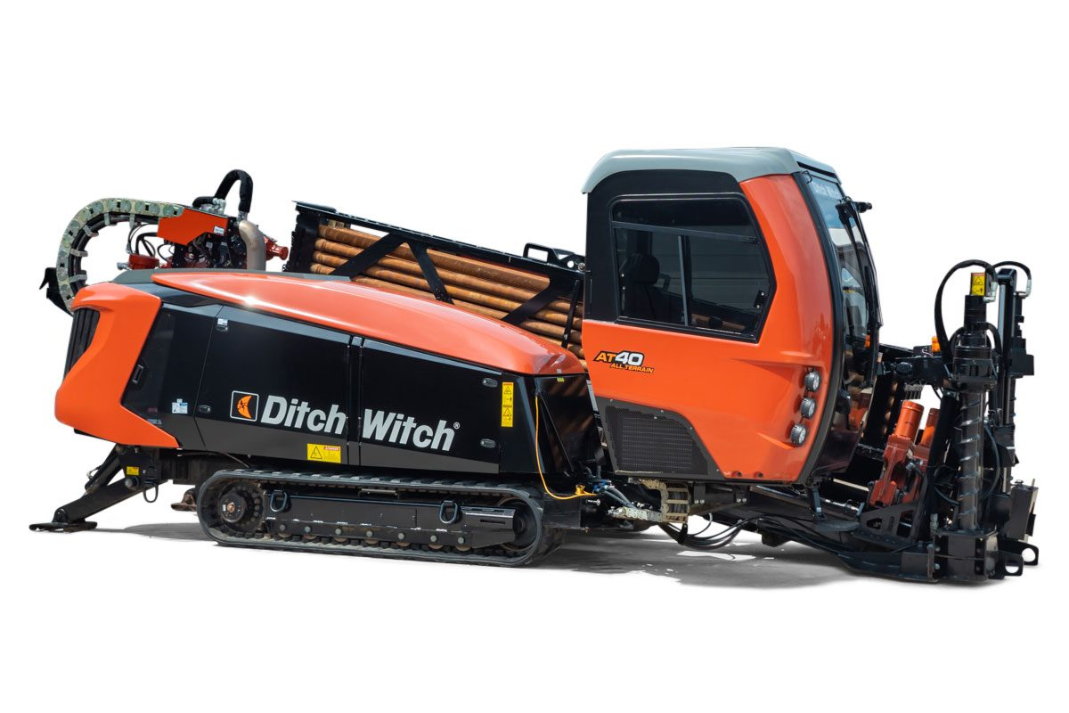 2019 Ditch Witch AT40 ALL TERRAIN horizontal directional drill