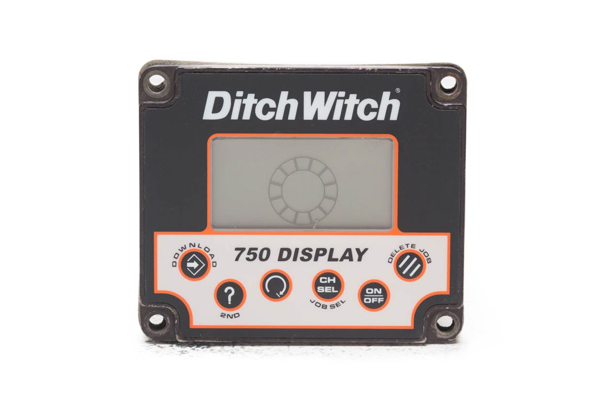 Ditch Witch 750D remote display